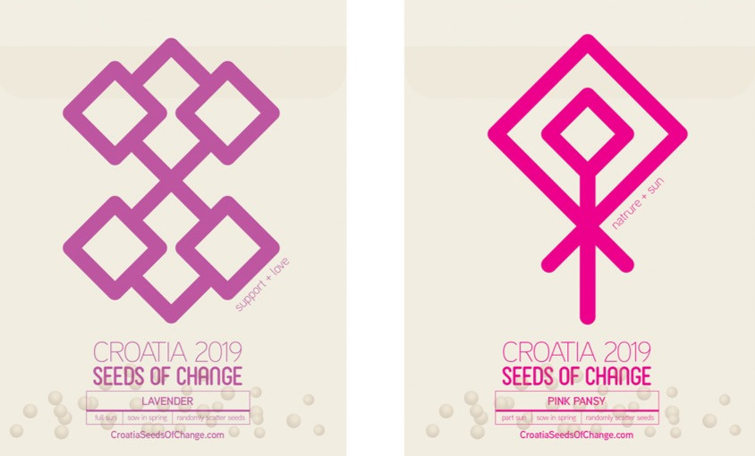 SEED PACKET DESIGN