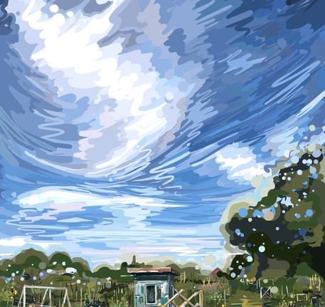 Allotment sky