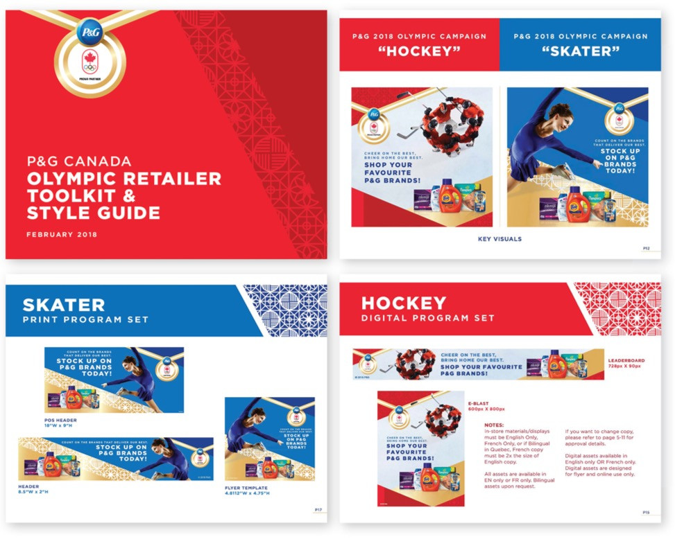 P&G OLYMPIC CAMPAIGN