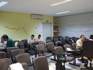 Equipe de campo se reúne em Viçosa-MG