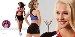 Warm up apparel: Visual expression and creative execution
