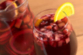 Sangria, El Guso spanish food