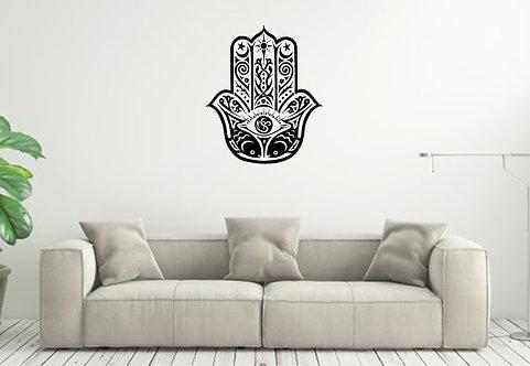 Zen Hand custom vinyl wall decal