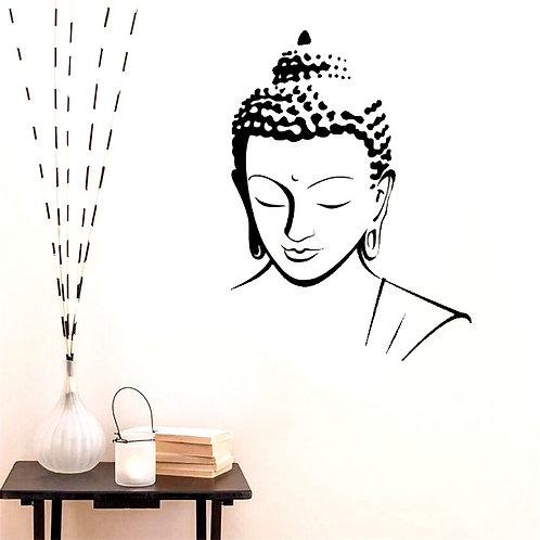 Buddha Silhouette Custom vinyl wall decal