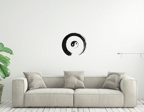 Zen Circle Custom vinyl wall decal