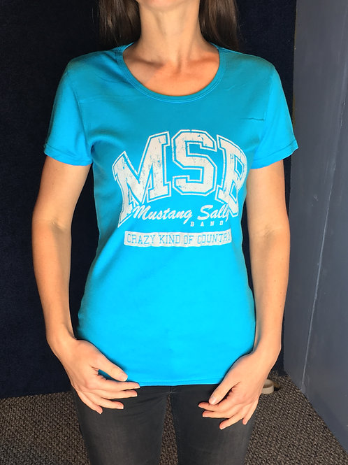 Mustang Sally Collegiate Tee