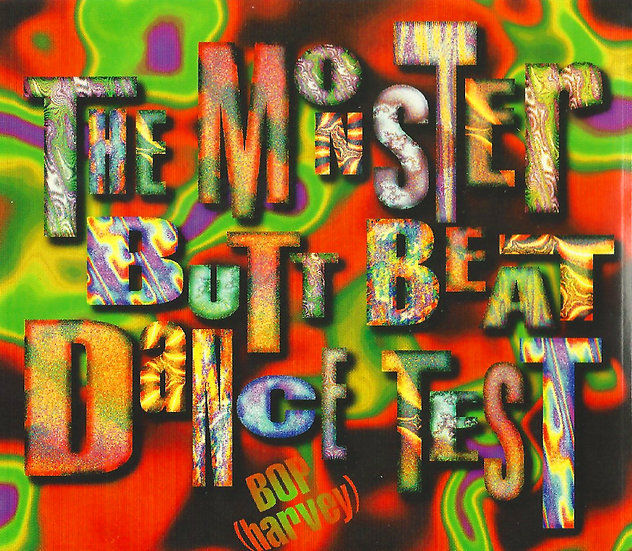 The Monster Butt Beat Dance Test Double CD
