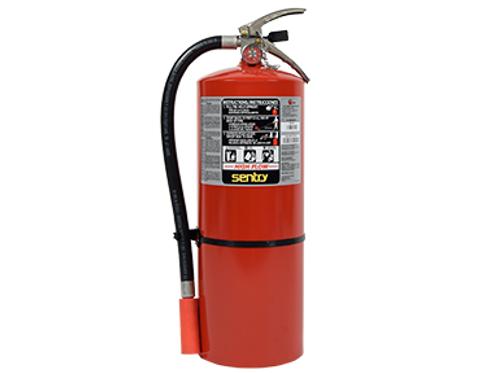 Ansul Sentry 10# ABC HIGH FLOW Extinguisher w/ Wall Bracket