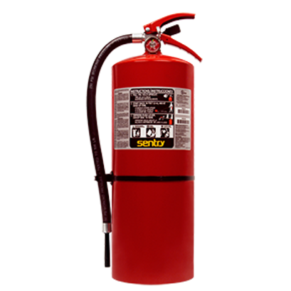Ansul Sentry 20# ABC Extinguisher w/ Wall Bracket