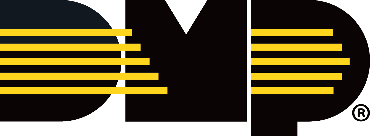 Black and Gold DMP logo
