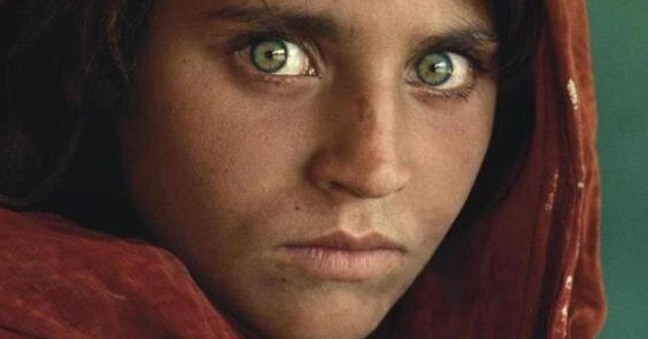 immagine ragazza Afghana - Huffington Po