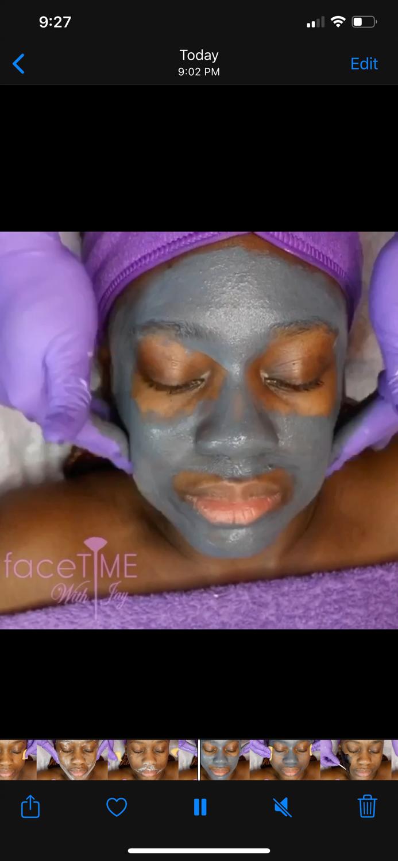 Detoxify Charcoal facial