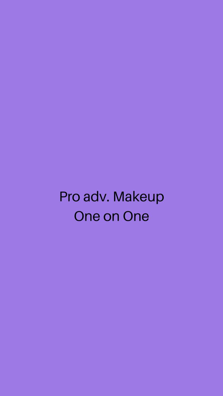 Pro advance Makeup
