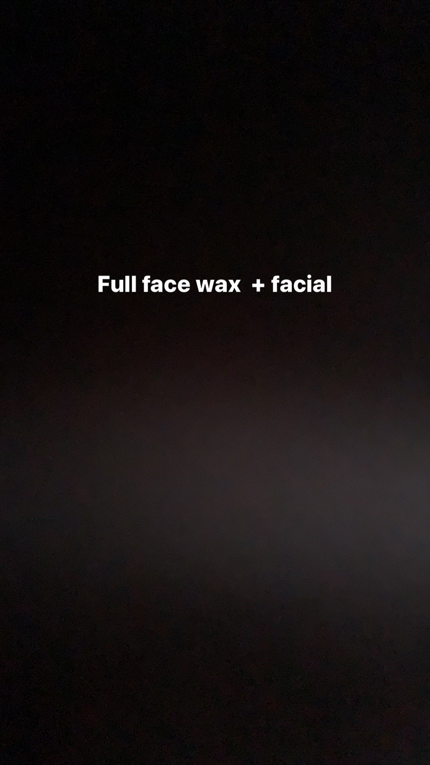 Total face wax