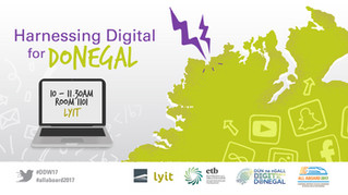 Visual Newsdesk at Digital Donegal Week