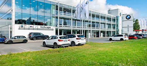 BMW autocentra rekonstrukcija