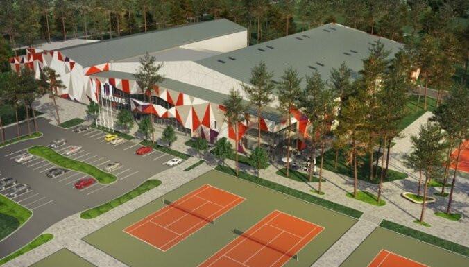 Lielupes tenisa centra pārbūves būvprojekts