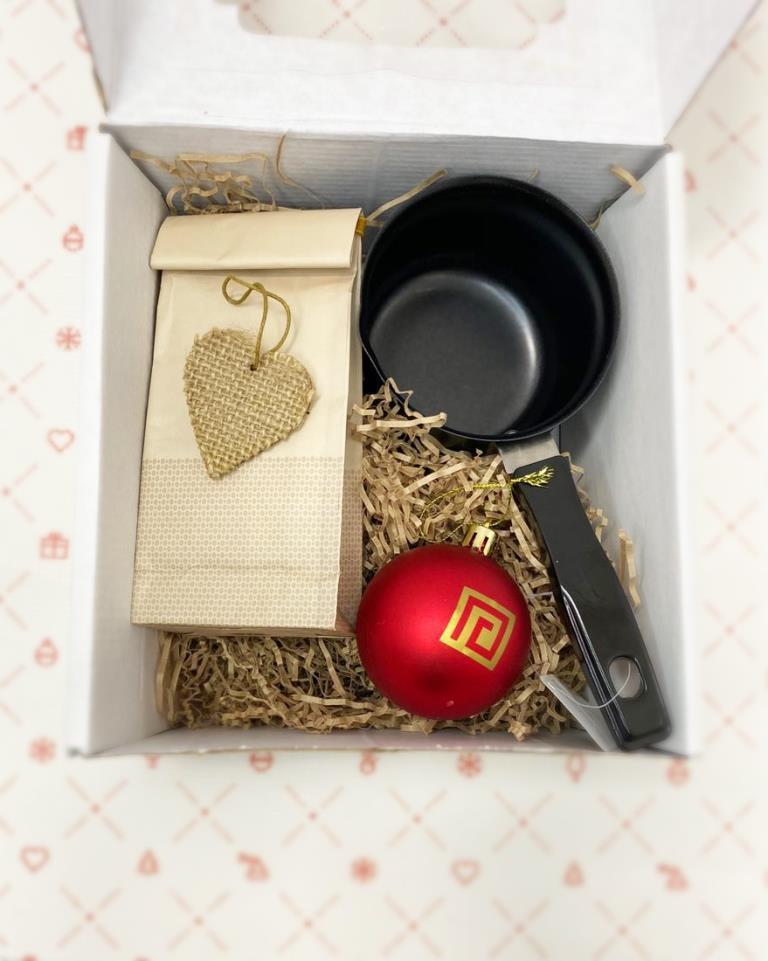 Кофейный набор турка кофе игрушка в коробке