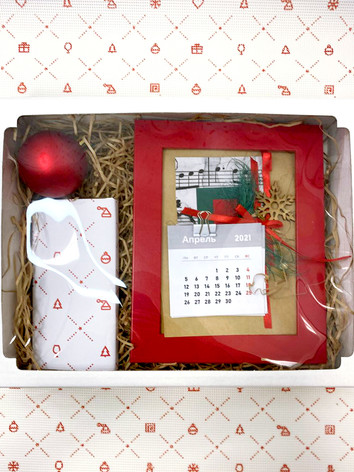Набор календарь шоколад