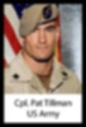 Cpl. Pat Tillman, USA