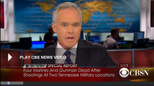 BREAKING NEWS CBS: 4 Marines killed in attacks on Chattanooga military facilities