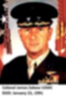 Colonel James Sabow, USMC