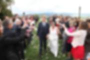 Sortie des mariés, cérémonie laïque