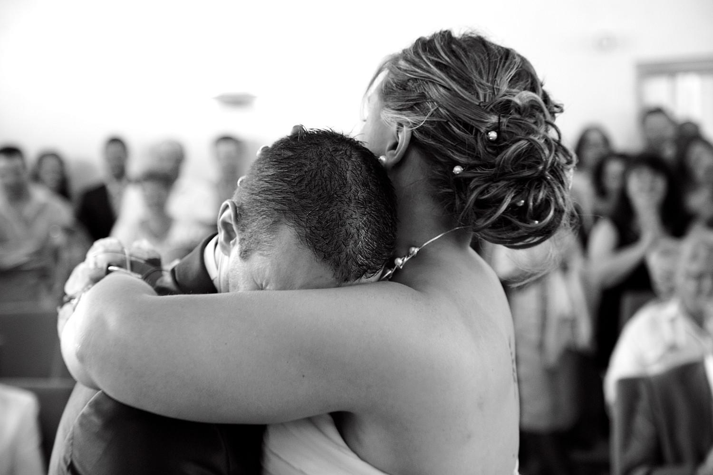 Emotion cérémonie civile de mariage