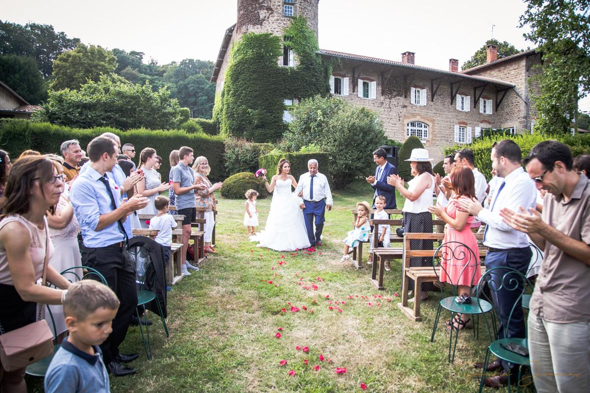 entrée mariée cérémonie laique