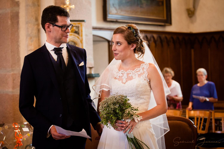 regards entre les mariés