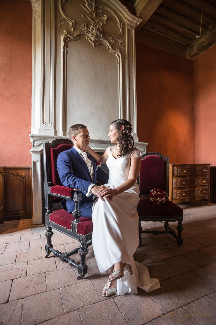 Photos couple mariage loire