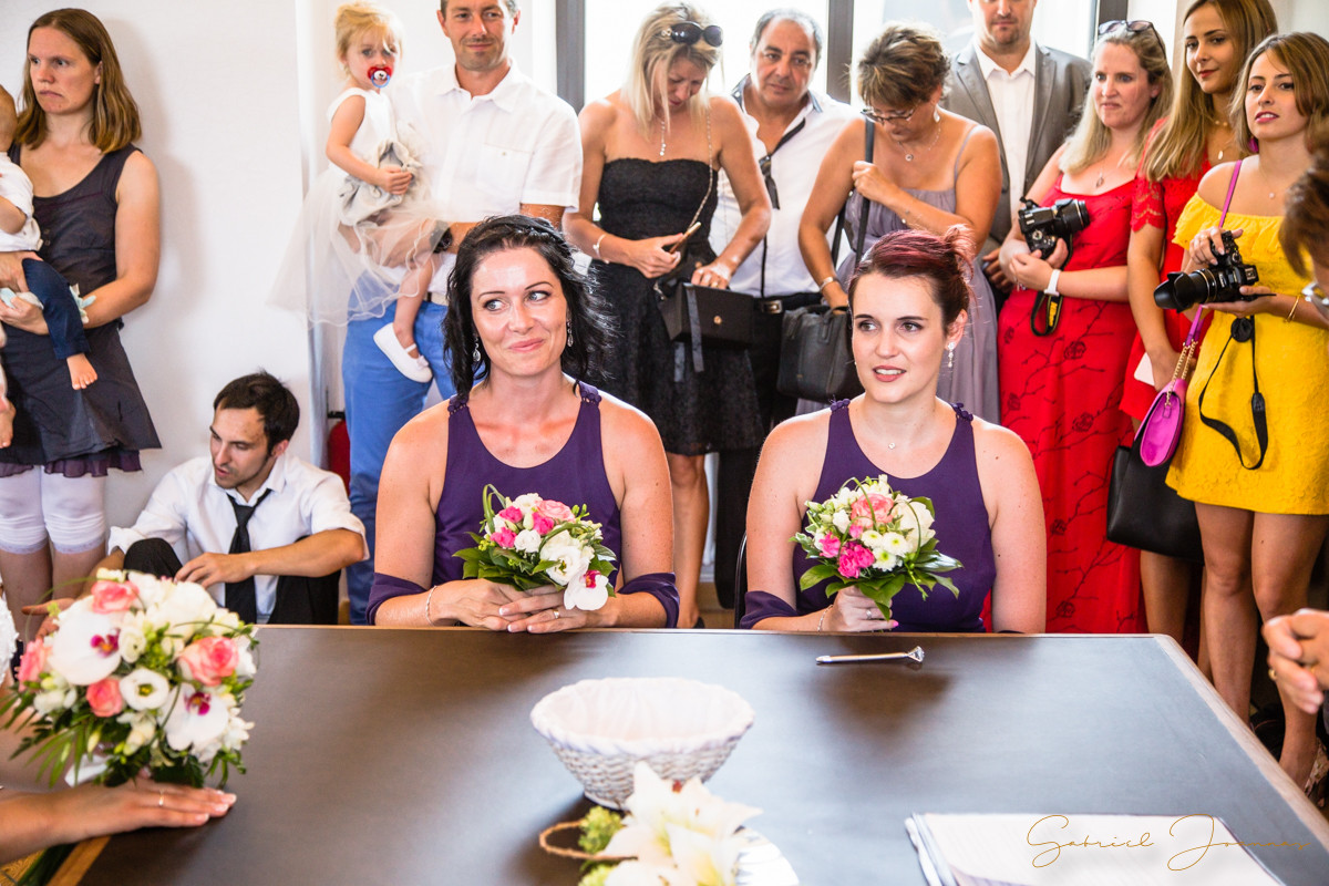 Portrait témoins de mariage