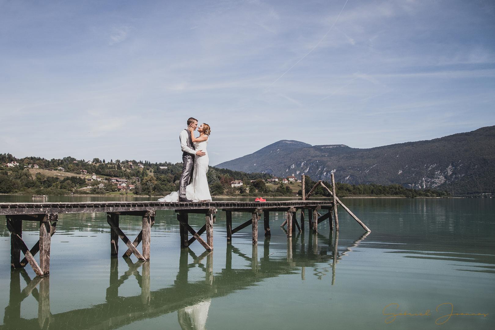 photos mariage lac d'aiguebelette