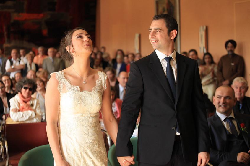 La mariée dit oui