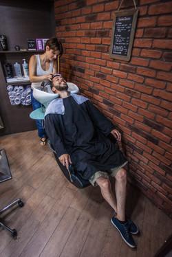 Taille de barbe pour le marié