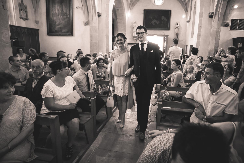 Cortège cérémonie religieuse