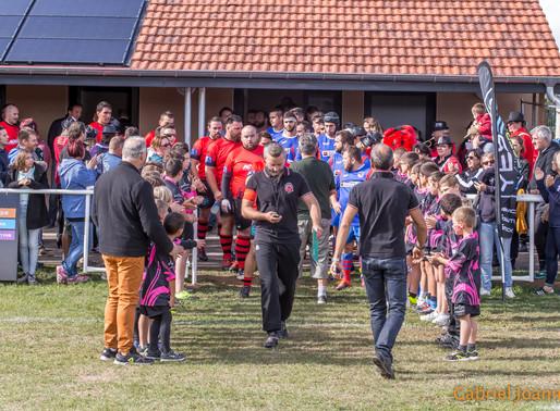 Rugby des Monts , les photos du match PARTIE 1