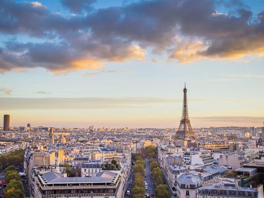 Paris, depuis la terrasse de l'arc de triomphe.