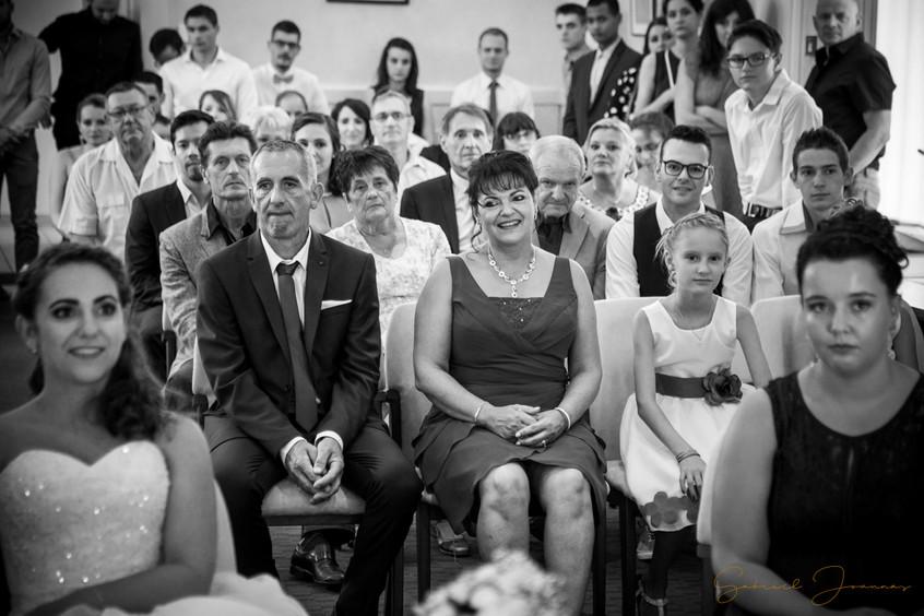 Famille à la cérémonie civile