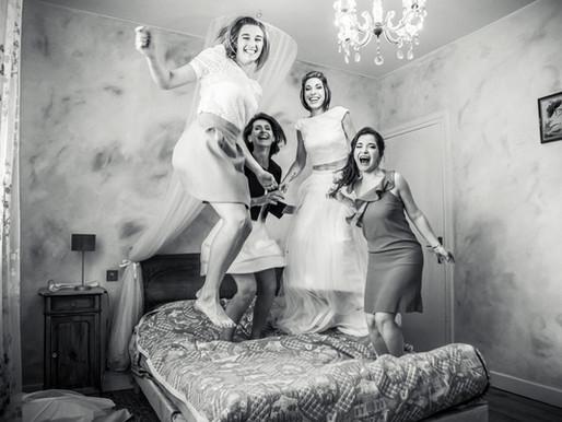 Quand la mariée se prépare...