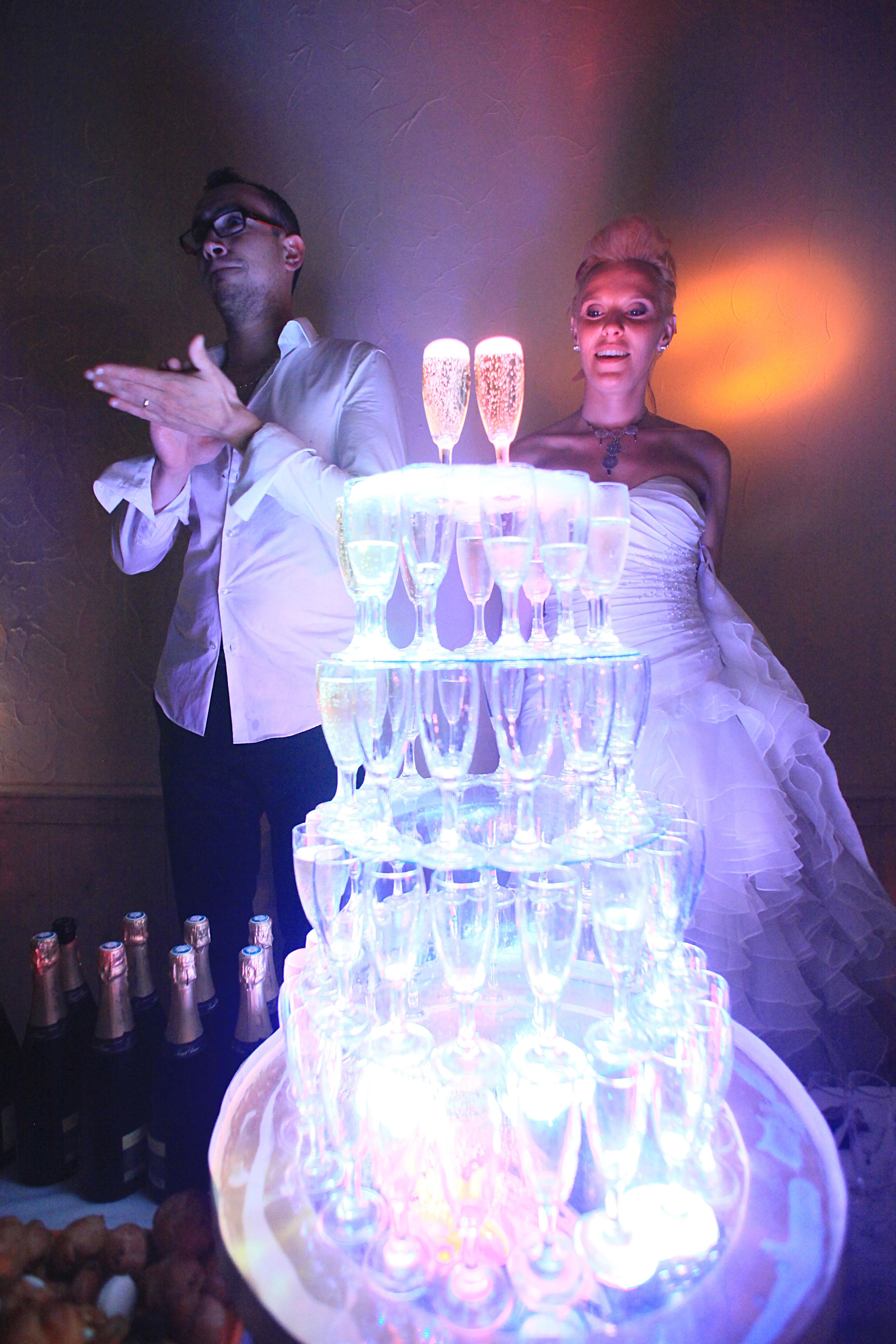 Soirée de mariage à Alix