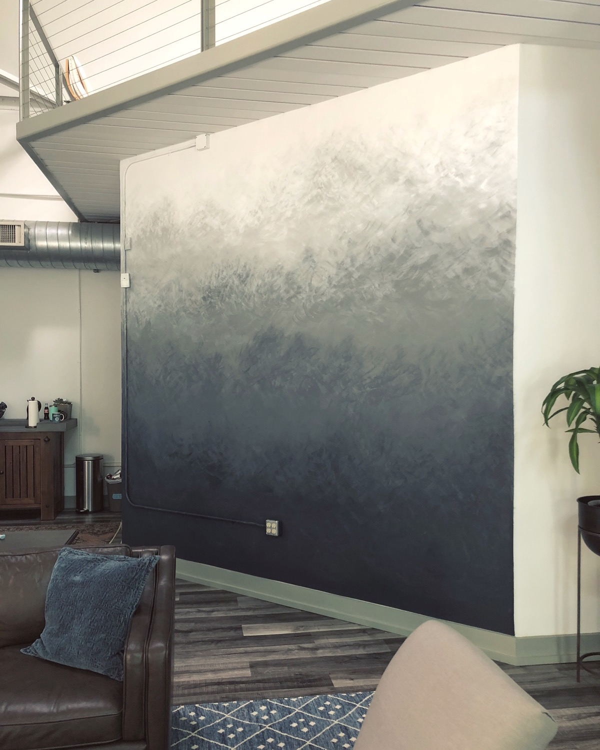 OMBRE WALL MURAL