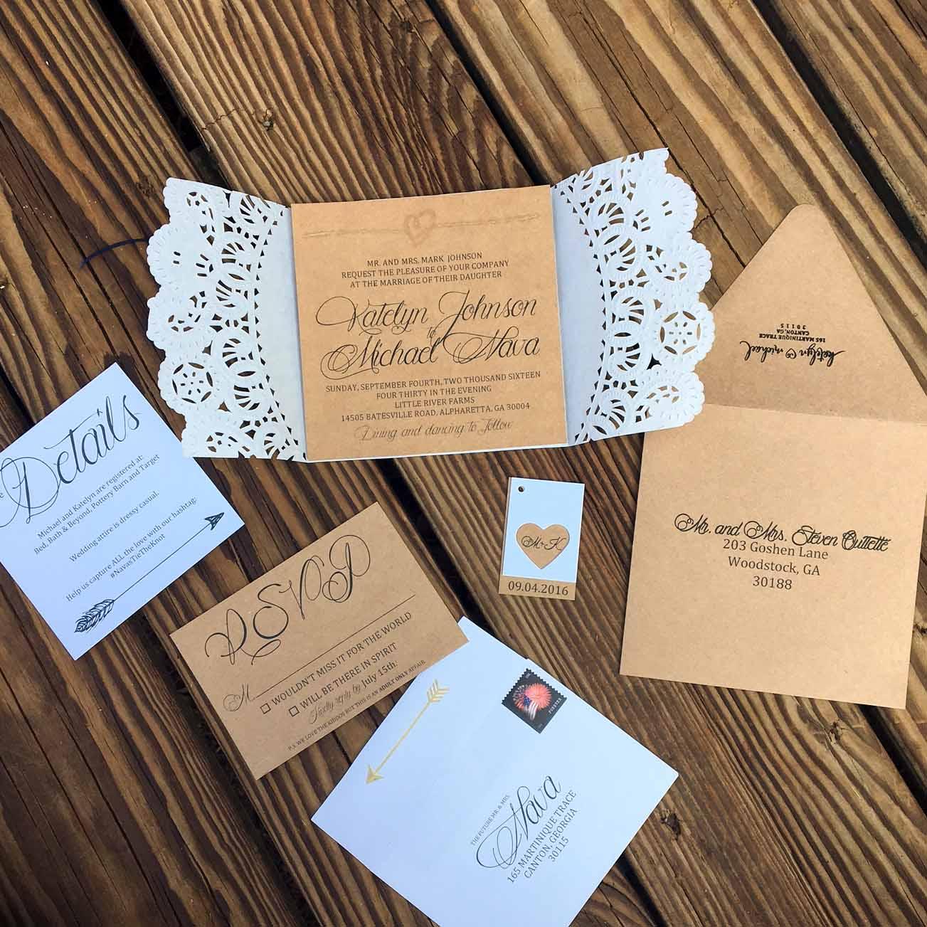 NAVA WEDDING INVITATION SUITE