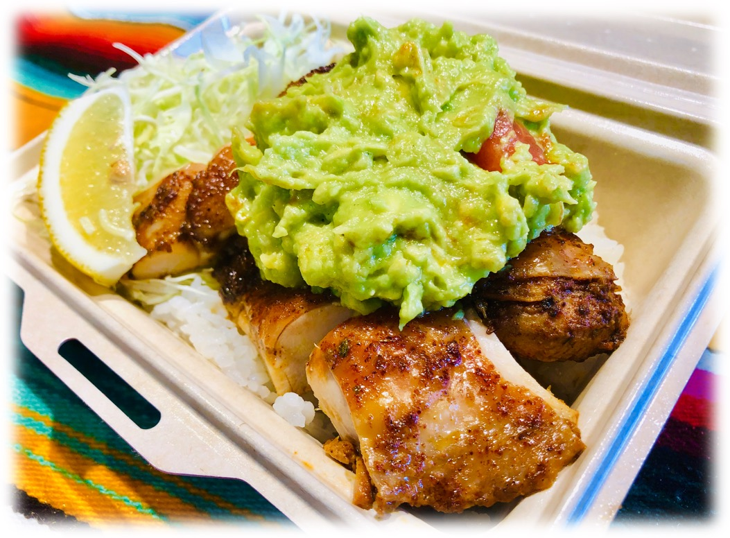 Guacamole Grilled Chicken