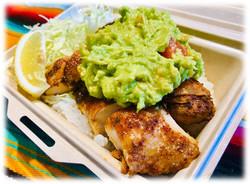 GuacamoleGrilled Chicken