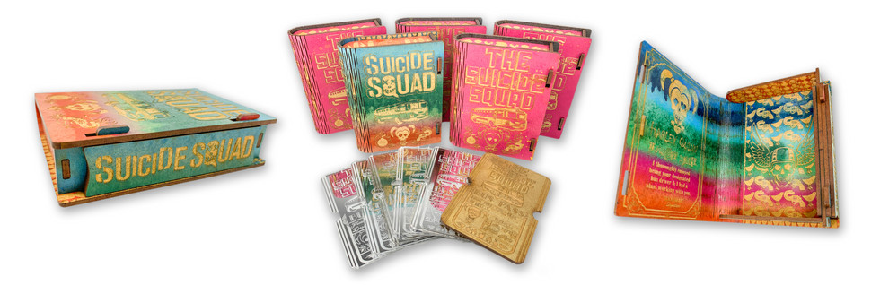 SUICIDE SQUAD GIFT BOXES