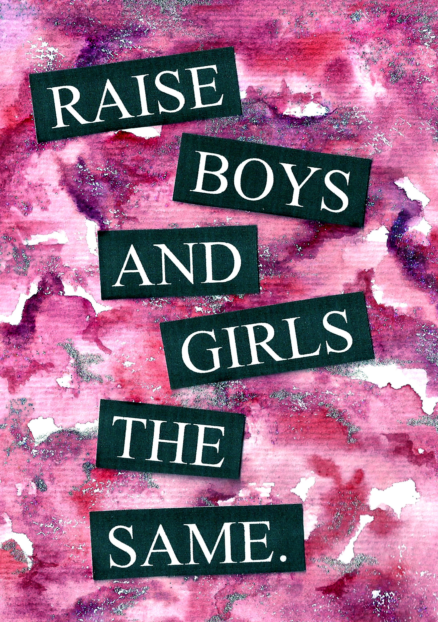 Raise Boys & Girls The Same