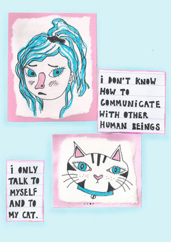 i only talk to cats
