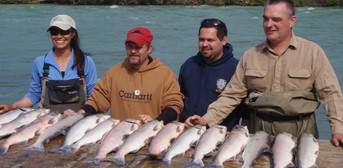 Red Salmon fishing in August