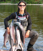 Stephanie Alaska Fishing Guide